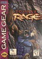Primal Rage Sega Game Gear Brand New