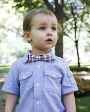 Stinky McGee Baby Toddler Boy Stylish Neck Wear Bowtie Holiday Plaid Checked Bow