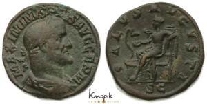 Römische Kaiserreich, Maximinus I. Thrax, AE-Sesterz 236-238, Rom, RIC 85