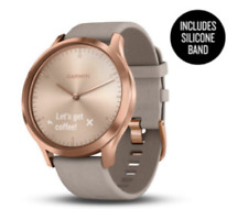 Garmin Vivomove HR Premium Rose Gold Suede with Garmin warranty