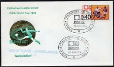 043 - Germany 1974 - FIFA - World Cup - Frankfurt - Scotland- Yugoslavia - Cover