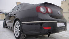 VW Passat 05-10 B6 3C R36 Sedan Limo Rear trunk lip spoiler saloon r line wing