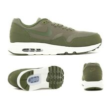 Mens Nike Air Max 1 Ultra 2.0 Essential Olive Green Trainers (NF1) RRP £99.99