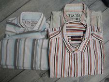 Lot été 3 chemisettes chemises TBS Burton rayures XXL