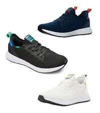 JACK & JONES Mens Textile Mesh Canvas Trainers Casual Fashion Sneakers Shoes