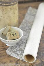 Jeanne d'Arc Living Organza Rolle 5m white/creme Blumen Shabby Chic Vintage Deko
