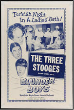 BLUNDER BOYS VINTAGE MOVIE POSTER ONE SHEET THREE STOOGES