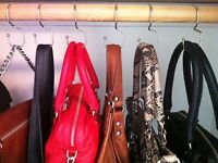 BRAND NEW ED Joy Tote Bag Grey Tartan 15 x 15