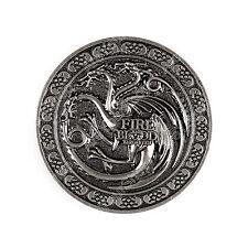 Game of Thrones House Targaryen Fire and Blood Metal Belt Buckle