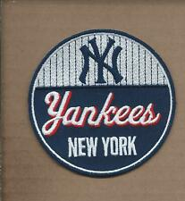NEW 3 1/2 INCH NEW YORK YANKEES RETRO IRON ON PATCH FREE SHIPPING P1