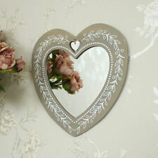 Wooden Heart Wall-mounted Decorative Mirrors