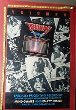 """Triumph Poster,36x24"""",Origin al,Record company promo,"""