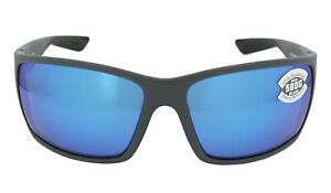 Costa Del Mar Reefton Blue Mirror 580G Glass Lens Sunglasses RFT 98 OBMGLP