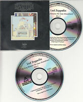 LED ZEPPELIN The Song Remains The Same 2007 US numbered promo test 2-CD