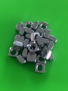 M8 A4-80 MARINE GRADE 316 STAINLESS STEEL SQUARE NUT DIN 557