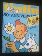 Journal Tintin N° 171 50 e anniversaire Complet  avec Timbre + lettre TBE