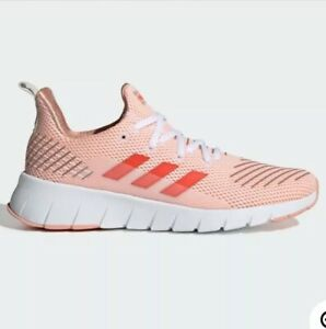 Women Adidas Asweego Athletic Shoes Clear Orange/Red F35567