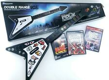 ANTCOMMANDOS Playstation 2 3 PS2 PS3 Guitar Hero Flying Guitar And 3 Games ACDC