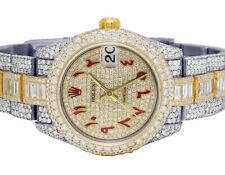 Ladies Rolex Datejust 18K/ Steel 178273 Midsize 31MM VS Diamond Watch 25.75 Ct