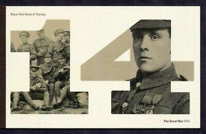 Prestige Booklet 2014 Great War DY11 Complete WS19517