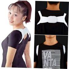 Adjustable Therapy Posture Body Shoulder Support Belt Brace Back Corrector CU