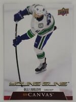 2020-21 Upper Deck Series 1 Olli Juolevi Canvas Young Guns Card