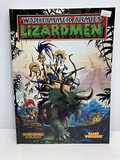 Warhammer Armies Lizardmen 1997 - Games Workshop Lizardman Army Book
