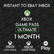 Xbox Live 1 Month GOLD & Xbox Game Pass Ultimate (2 x 14 Days) INSTANT 24/7