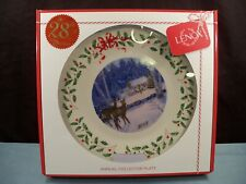 Lenox 2018 Annual Holiday Collector Christmas Plate 28th Annual Nib Deer Scene