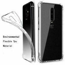 For OnePlus 7 Pro Case Ultra Slim Soft Transparent ShockProof TPU Phone Cover