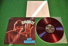 Cliff Richard Shout Japan LP 1st press 60er red Vinyl OP-8197