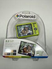 Polaroid i835 Digital Camera 8.0 Megapixels 3 Inch LCD Display yellow new