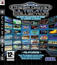 SEGA Mega Drive Ultimate Collection Ps3 Sony PlayStation 3