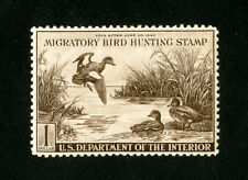 US Stamps # RW9 XF OG LH Fresh Duck