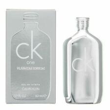 Calvin Klein CK One Platinum Edition Eau de Toilette Spray Unisex 50ml 1.7fl.oz