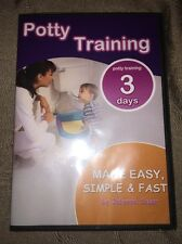 SEALED Potty Training Made Easy, Simple & Fast by Johanne Cesar DVD