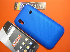 Custodia Cover Per SAMSUNG GALAXY ACE GT S5830 TURBO S5830i HARD CASE BLUE