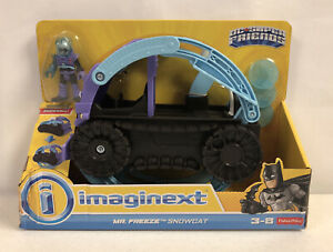 Fisher-Price Imaginext DC Super Friends Mr. Freeze Snowcat Vehicle New Worn Pkg