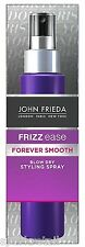 John Frieda FOREVER SMOOTH Frizz Ease Styling Blow Dry Hair Spray 100 ml