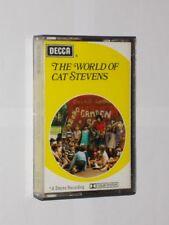 The World Of Cat Stevens. Cassette Album. Paper Labels. 1970 Decca.