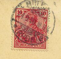 Reichpost 1900 Germania  Mi,56  ,, seltene farbe   sehr hohe kaufwert .