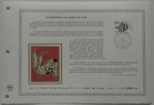 Document Artistique DAP 402 1er jour 1979 Championnats du Monde de Judo