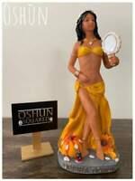 Orisa Oshun Statue with mirror | Estatua de Orisa Oshun con espejo