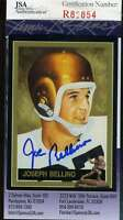 Joe Bellino Jsa Coa Autographed 1990 91 Heisman Collection Authentic Hand Signed