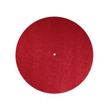 Dynavox Filzmatte / Plattentellerauflage PM2 Rot / 300 mm / Höhe 3 mm (207541)
