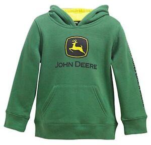 NEW John Deere INFANT Boys Green Hoodie Sweatshirt 12 18 24 Months