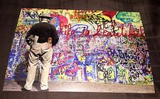 Mr Brainwash Life Is Beautiful Event Promo Card Under Construction Art