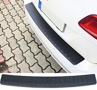 Für Ford Transit Custom Ladekantenschutz Carbon Look mit Abkantung Schutz