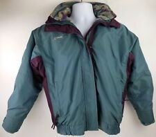 Columbia Bugaboo Vintage Ski Jacket Womens Small Southwestern Removable Fleece