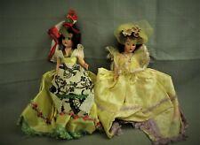 lot 2 vintage 1950s fashion dolls fancy dress